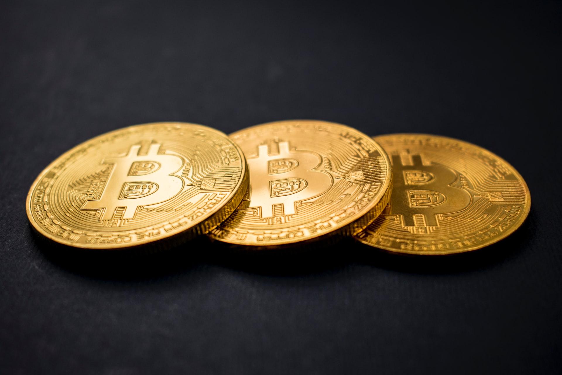 Die Abbildung von Bitcoins
